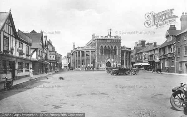 Photo of Leominster, Corn Square 1925