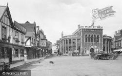 Leominster, Corn Square 1925