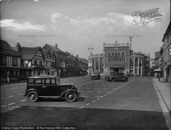 Photo of Leominster, Corn Square 1936
