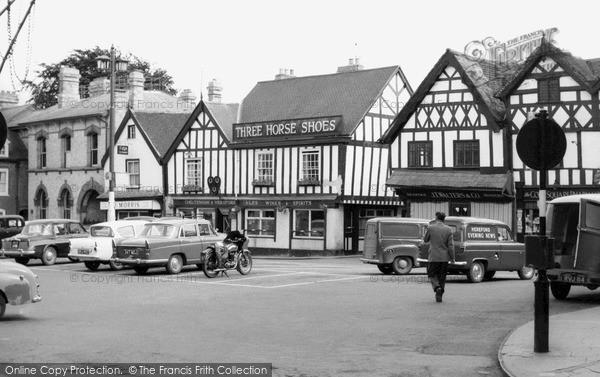 Photo of Leominster, Corn Square c.1965