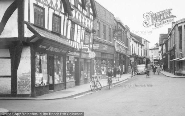 Photo of Leominster, Corn Square, Shops c.1955