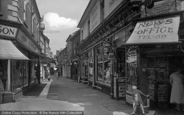 Photo of Leominster, Drapers Lane 1936