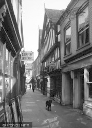 Leominster, Drapers Lane 1936