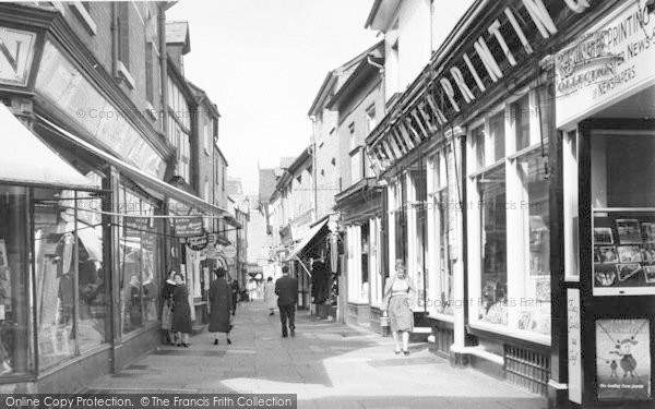 Photo of Leominster, Drapers Lane c.1960