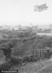 Leominster, From Eaton Hill 1904