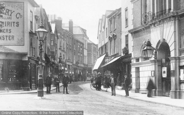 Photo of Leominster, High Street 1904