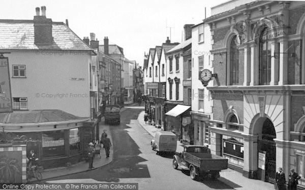 Photo of Leominster, High Street c.1955