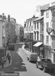 Leominster, High Street c.1955