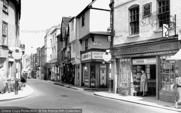 Photo of Leominster, High Street c.1960