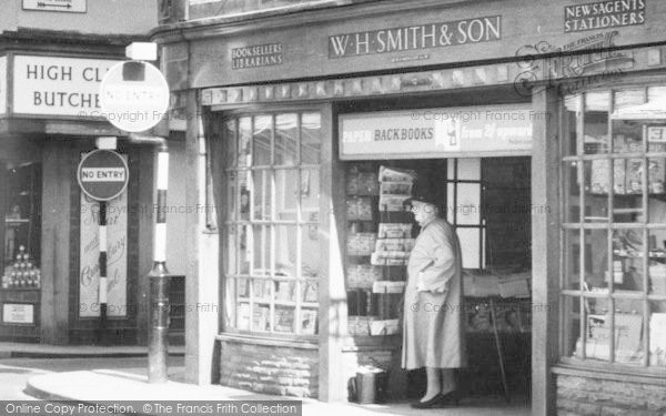 Photo of Leominster, High Street, W H Smith & Son c.1960