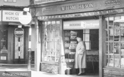 High Street, W H Smith & Son c.1960, Leominster
