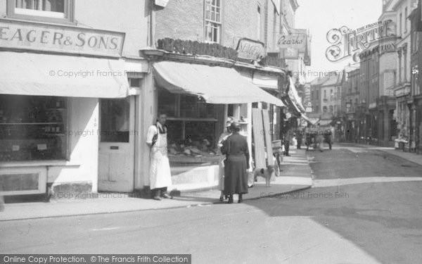 Photo of Leominster, Iron Cross, Fishmonger 1936