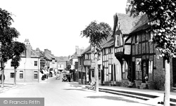 Lower Bargates West Street 1936, Leominster