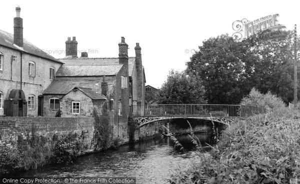Photo of Leominster, Mill Bridge c.1950