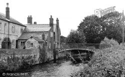 Mill Bridge c.1950, Leominster