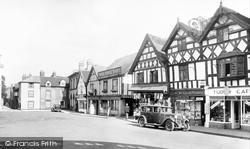 Old Houses, Corn Square 1936, Leominster