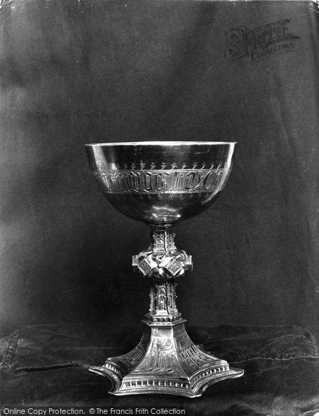 Photo of Leominster, Pre Reformation Chalice, Priory Church 1925