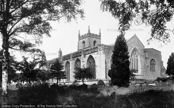 Photo of Leominster, Priory Church 1925