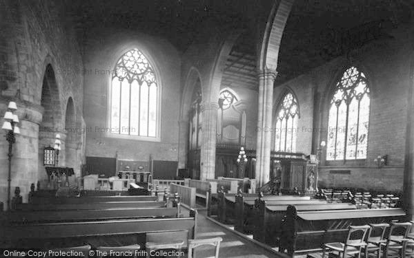 Photo of Leominster, Priory Church, Chancel And Choir 1925