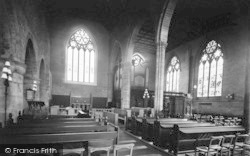 Leominster, Priory Church, Chancel And Choir 1925