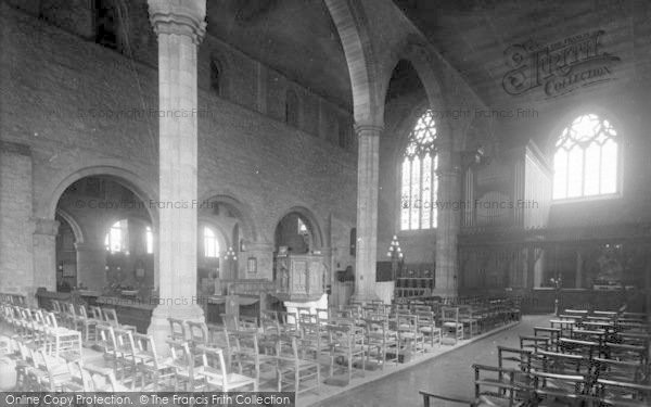 Photo of Leominster, Priory Church, Chancel And Choir North East 1925