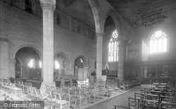 Leominster, Priory Church, Chancel And Choir North East 1925