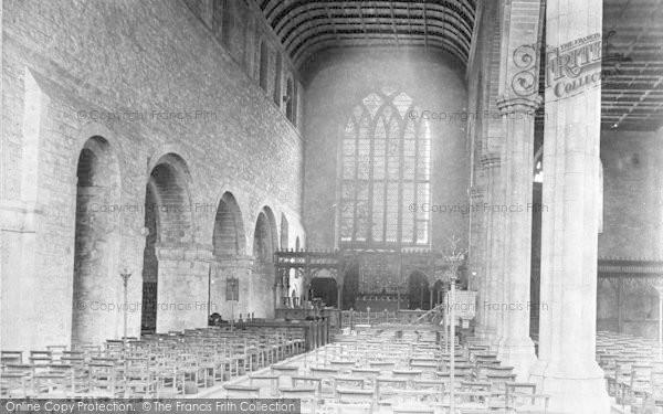 Photo of Leominster, Priory Church Interior 1904