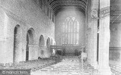 Leominster, Priory Church Interior 1904