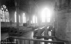 Leominster, Priory Church, New Chancel And Choir West 1925