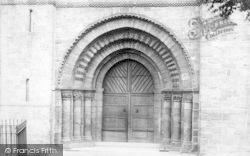 Leominster, Priory Church, Norman Door 1904