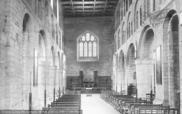 Photo of Leominster, Priory Church, Norman Nave 1904