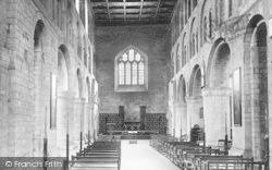 Leominster, Priory Church, Norman Nave 1904
