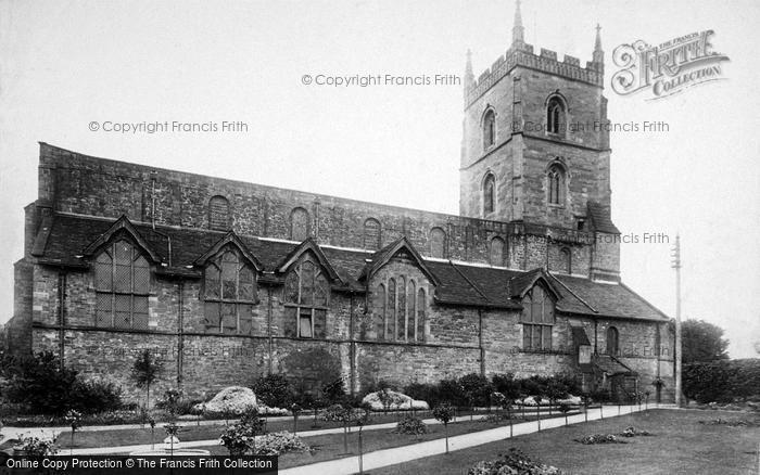 Photo of Leominster, Priory Church, North Side 1904