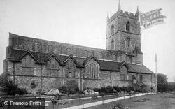 Leominster, Priory Church, North Side 1904