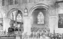 Leominster, Priory Church, View Across The Nave 1904