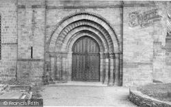 Leominster, Priory, Great West Doorway c.1960