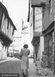 Leominster, School Lane c.1950