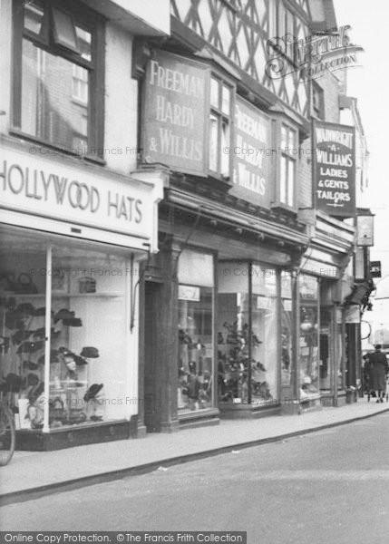 Photo of Leominster, Shoe Shop, High Street c.1950