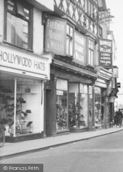 Leominster, Shoe Shop, High Street c.1950
