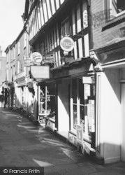 Leominster, Shop In Drapers Lane c.1960