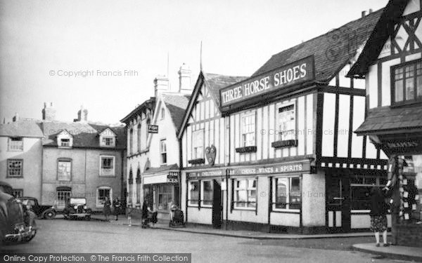 Photo of Leominster, The Cornmarket c.1950