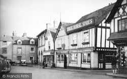 The Cornmarket c.1950, Leominster