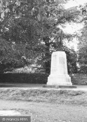 Leominster, The Memorial c.1960