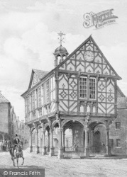 The Old Town Hall (Now Grange Court) c.1850, Leominster