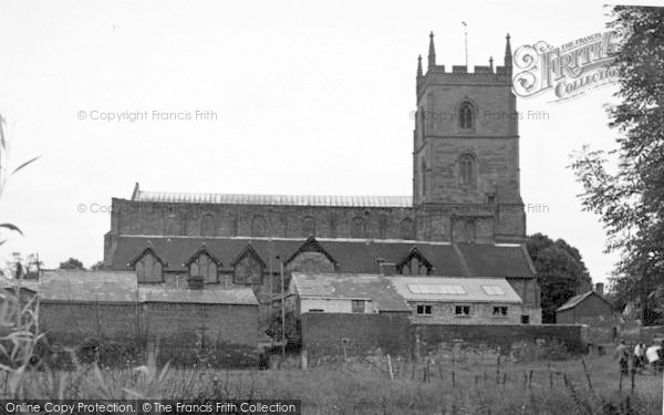 Photo of Leominster, The Priory c.1955