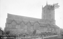 Leominster, The Priory Church 1924