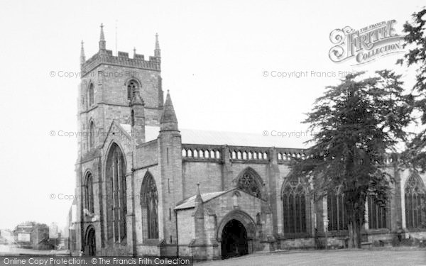 Photo of Leominster, The Priory Church c.1960