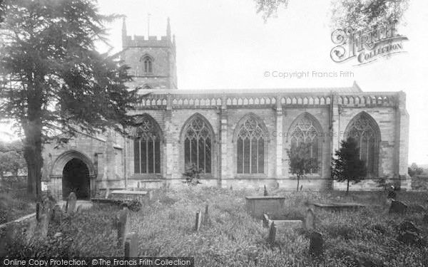 Photo of Leominster, The Priory Church, South Side 1925