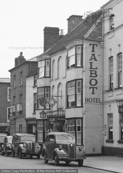 Photo Of Leominster The Talbot Hotel 1955 Francis Frith