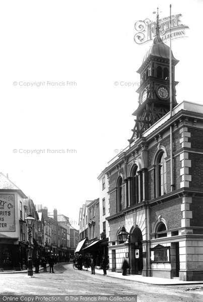 Photo of Leominster, Town Hall 1904